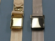 Custom Airplane Seat Belt Finishes